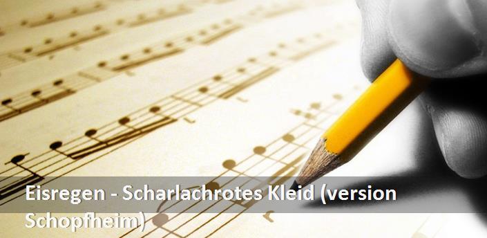 best sneakers 79b79 4ea30 Eisregen - Scharlachrotes Kleid (version Schopfheim) Şarkı ...